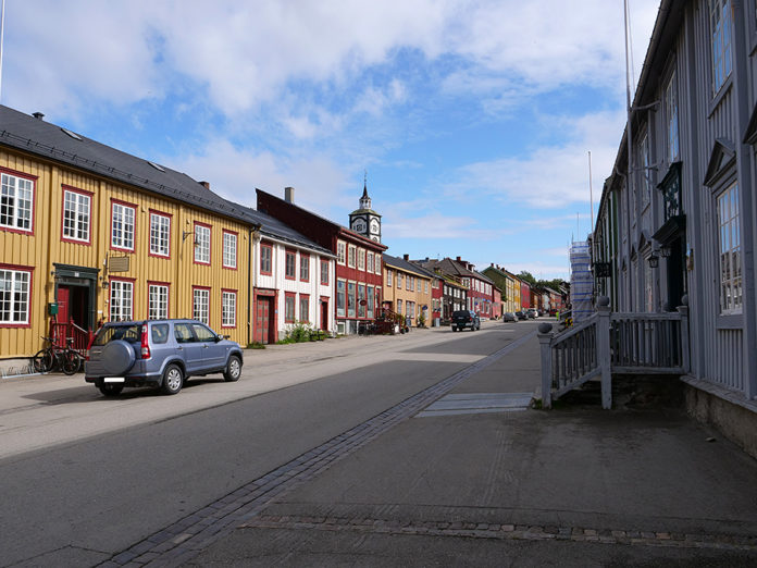 Bergmannsgata stenges fredag. Foto: Iver Waldahl Lillegjære