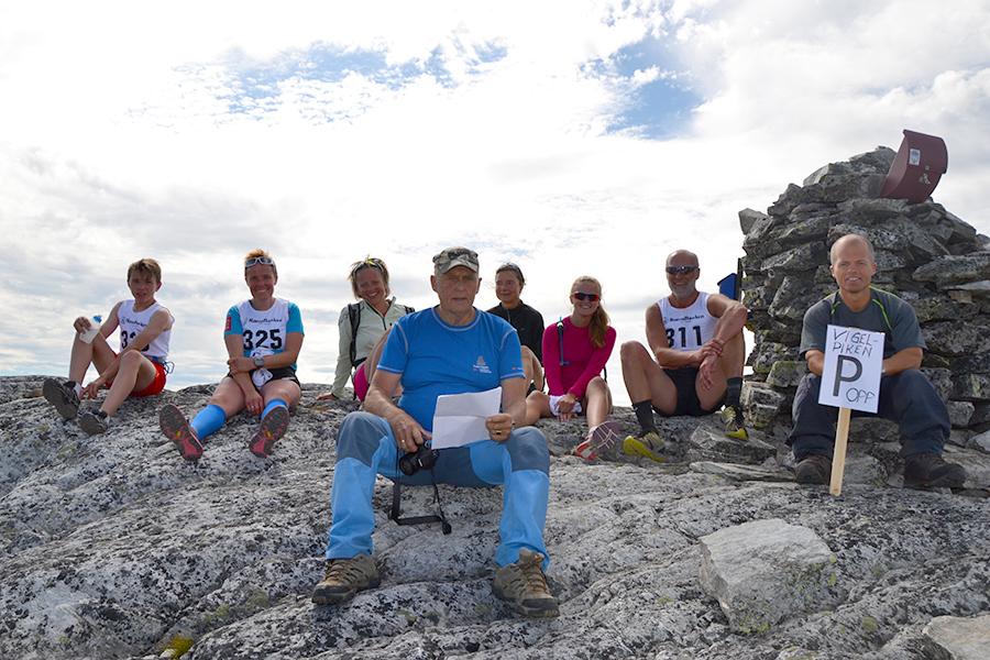 Francis Konow og resten av skigruppa til Brekken IL er klare for årets Viglpiken opp. Foto: Brekken IL