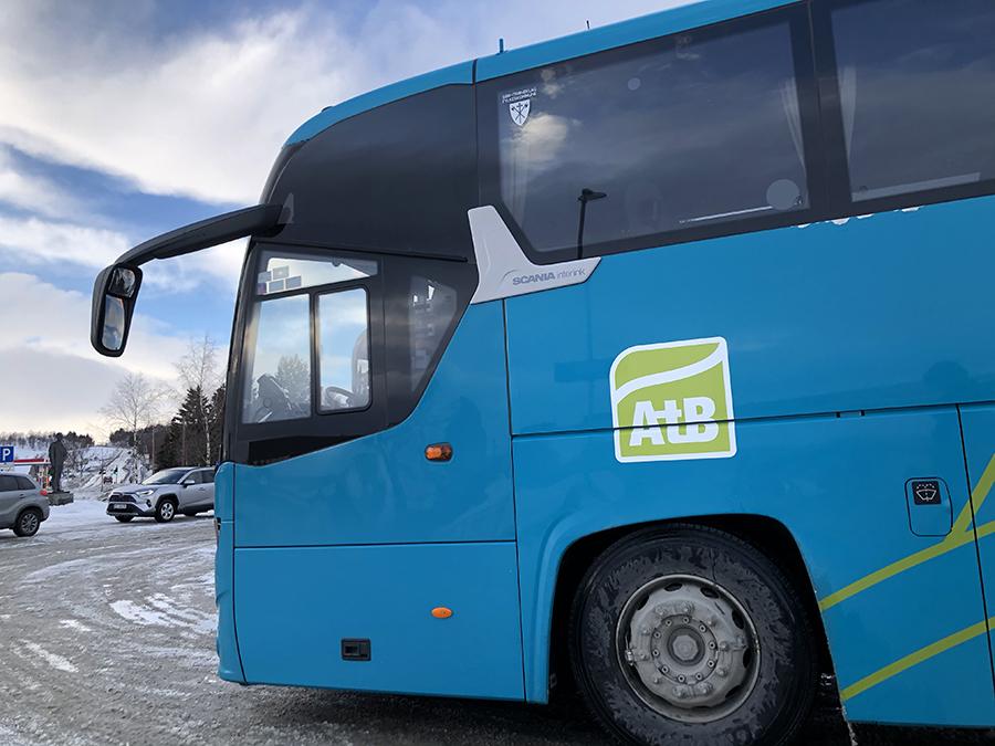 Boreal AS avdeling Røros opererer ruta til Trondheim for AtB. Foto: Tore Østby