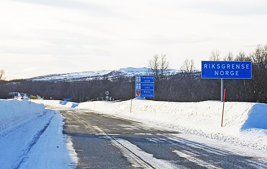 Nå åpnes grensa for dagpendling. Foto: Tore Østby