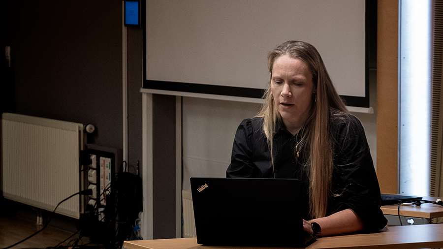 Kommuneplanlegger Ingunn Holøymoen. Foto: Iver Waldahl Lillegjære