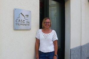 Eli Anne Langen jobber med eiendomsmegling i Piemonte. Foto: Privat