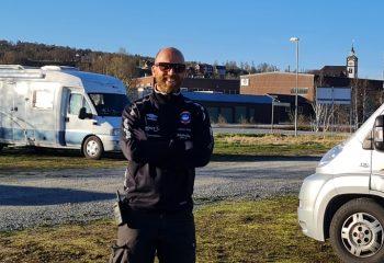 Leder i Røros Idrettslag, Vidar Kojan Grind. Foto: Tove Østby