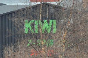Kiwi fotografert  fra hjemmekontor. Foto: Tore Østby