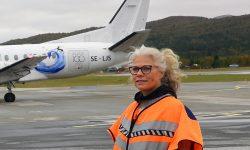 Tove Martens ønsker mobilisering for Air Leap. Foto: Tore Østby